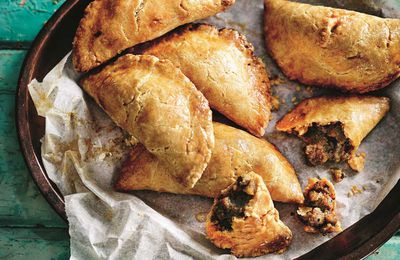 "Recipe: <a href=""http://kitchen.nine.com.au/2017/06/06/15/56/anjum-anand-goan-pork-pies"" target=""_top"">Anjum Anand's Goan pork pies</a>"