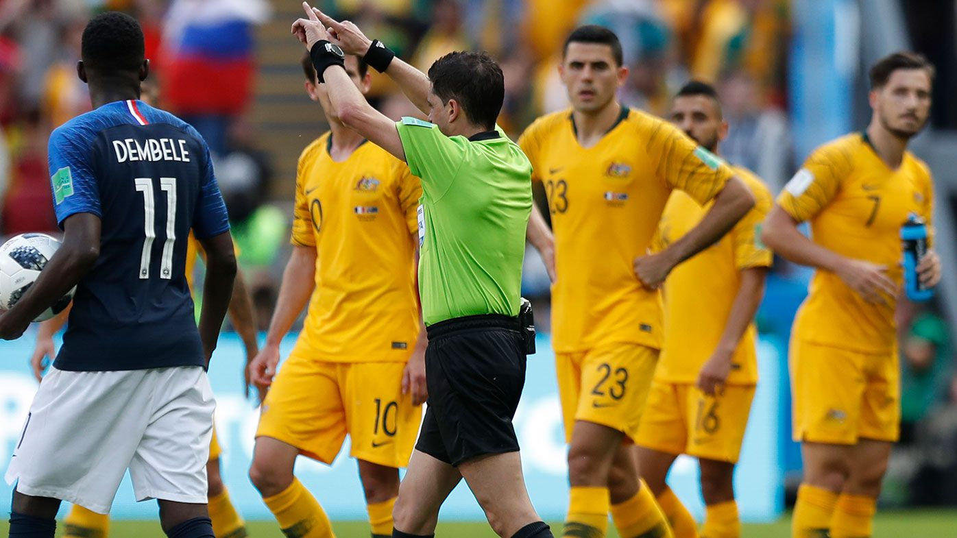 World Cup VAR controversy leaves Socceroos fuming