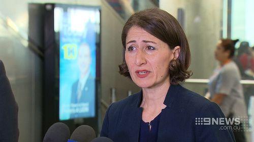 Transport Minister Gladys Berejiklian has pledged more train services. (9NEWS)