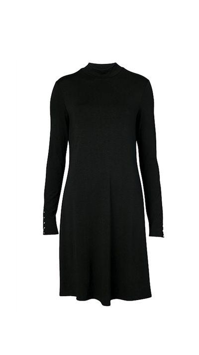 "<a href=""http://www.witchery.com.au/shop/woman/clothing/dresses/60180483/High-Neck-Swing-Dress.html"" target=""_blank"">Dress, $99, Witchery</a>"