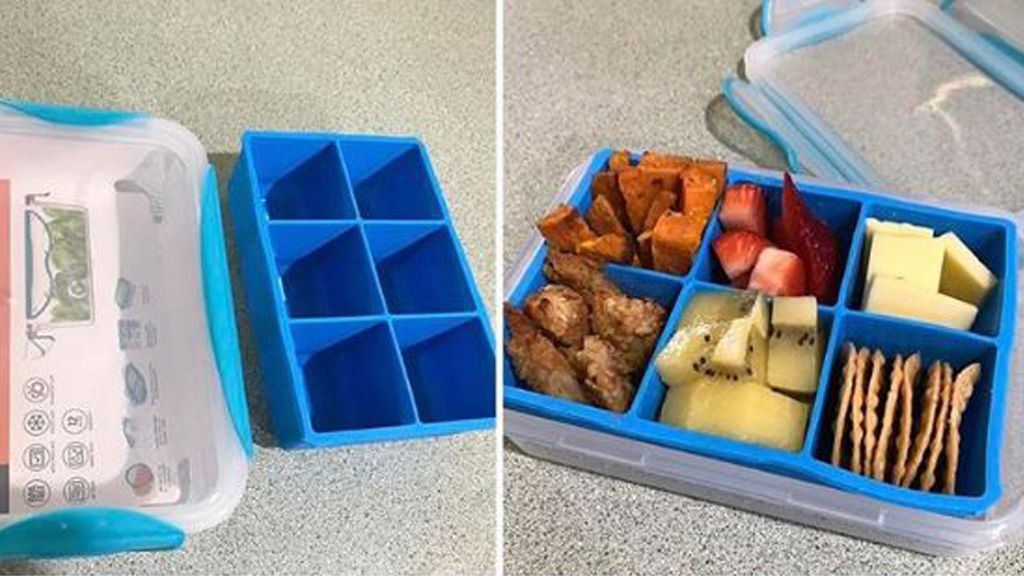 Boxed in: this Kmart hack for bento boxes is going viral. Image: Instagram@reve.ever
