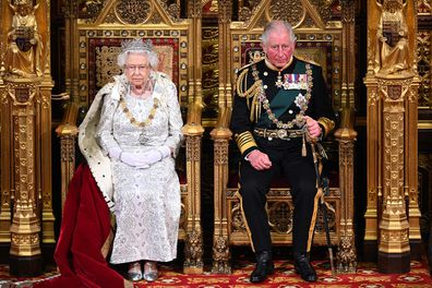 Queen and Prince Charles parliament in 2019