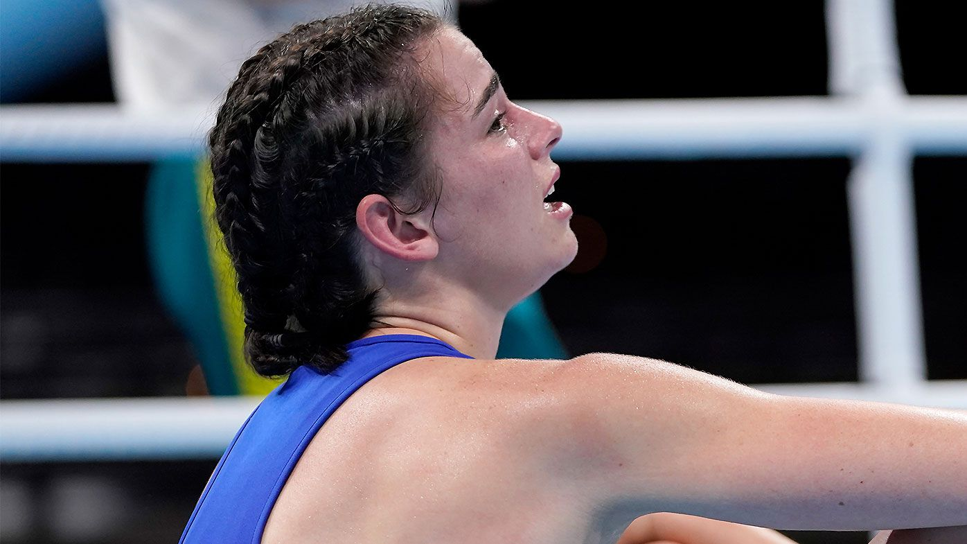 Tokyo Olympics 2021: Aussie boxing star's heartbreaking tears after elimination