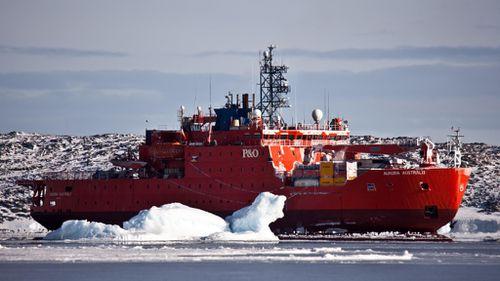Australia's icebreaker ship, Aurora Australis. (File image)