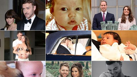 2012 year in review: Weddings, babies and baby bumps