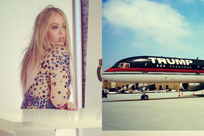 Name: Tiffany Trump<br/>Age: 19<br/>Family worth: $320 million<br/>Meet Donald Trump's real apprentice! The tycoon's daughter likes to fly around in his private jets, holiday at his ultra-exclusive resorts and socialises in Manhattan's elite Upper East Side. But forget about daddy's little girl taking over the family business - her sights are firmly set on pop-stardom!