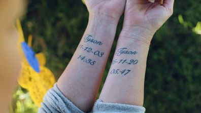 Mother of NZ teen dies in crash tattoos