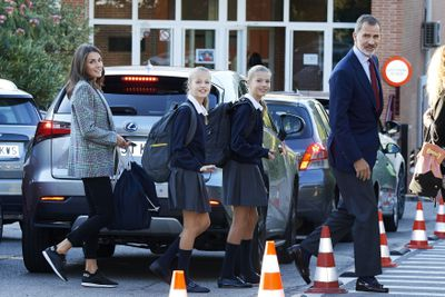 Spanish royals go back to school, September 2019