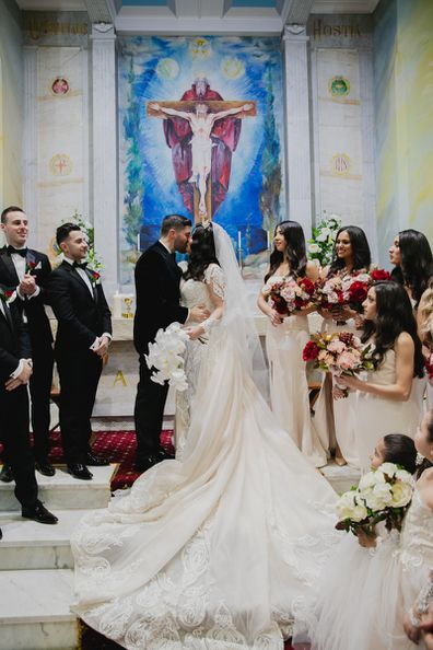 My Wedding Day: Priest arrives 45 minutes late to Lebanese Italian wedding