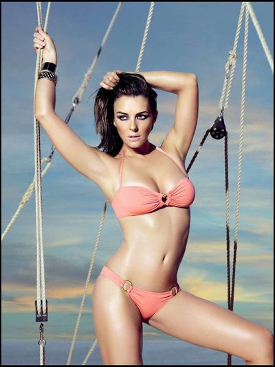 """It's a business. If I didn't have my own bikini line, I probably wouldn't be posting pictures of myself in a bikini,"" tells Elizabeth Hurley of <a href=""https://www.elizabethhurley.com/"" target=""_blank"">Elizabeth Hurley Beach</a>, who is quite partial to a bikini selfie."