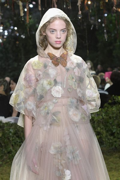 <p>Christian Dior Haute Couture Spring 2017.</p> <p>Butterflies and magic, sugar and quite a bit of spice.</p>