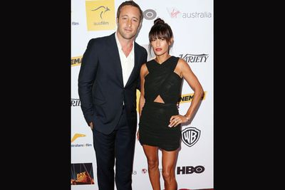 <i>Hawaii Five-O</i> actor won a Breakthrough Award for Aussie talent at the gala dinner.
