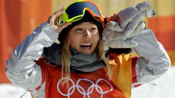 US gold-medal winning snowboarder Chloe Kim. (Photo: AP).