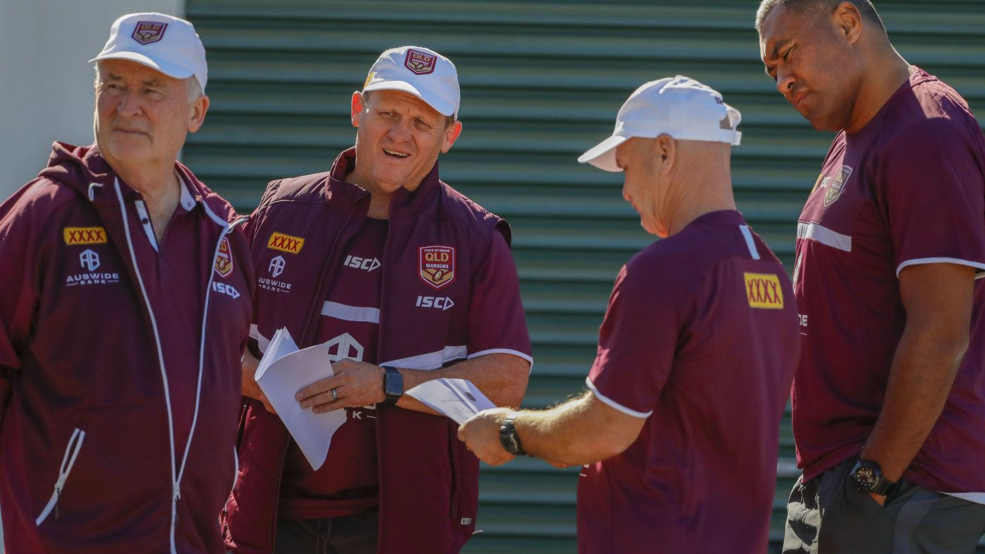 Maroons icon Allan Langer lampoons Kevin Walters' high-priced 'coach whisperer'
