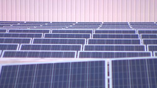 The developer is installing almost 40,000 solar panels on ten of its shopping centres. (9NEWS)