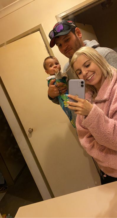 Maddy baby selfie