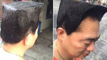 Wu Lei's new hairstyle fell flat on the woman he was trying to woo. (Supplied)