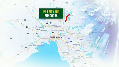The most crashes each year in Australia happen on Plenty Road, according to data from insurance provider AAMI.