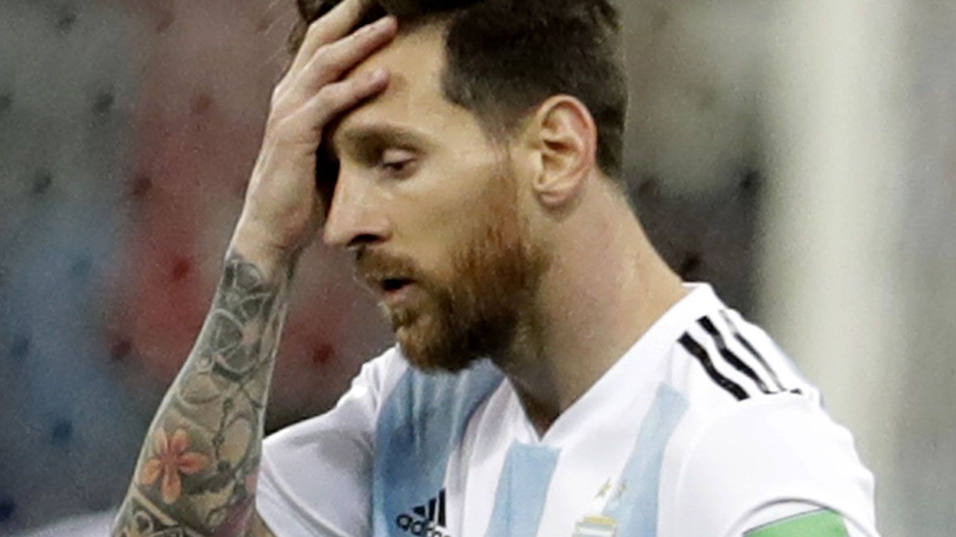 World Cup 2018: Goalkeeper howler leaves Argentina's campaign in tatters