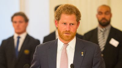 Prince Harry is the honorary president of the World Cup. (Getty)