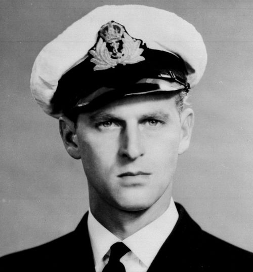 Prince Philip spent the early part of his career in the navy. Picture: AAP
