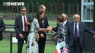 Will and Kate meet with holocaust survivors