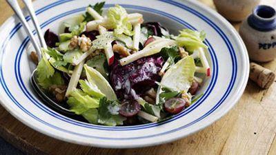<strong>Waldorf salad</strong>