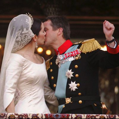 Crown Prince Frederik of Denmark and Mary Donaldson
