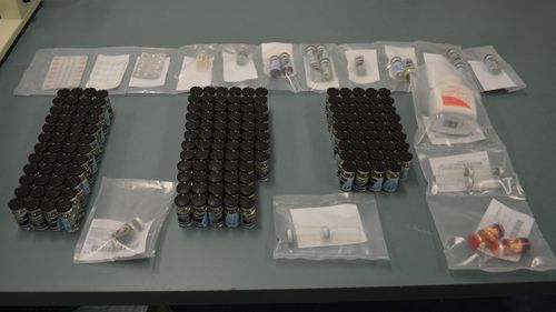 Police discover $35k worth of illicit drugs in Gold Coast raid