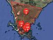 Power switched off amid catastrophic bushfire risk