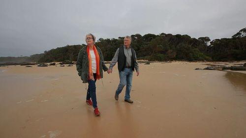 Jan Wild and Rowan Rafferty. (Channel 9)