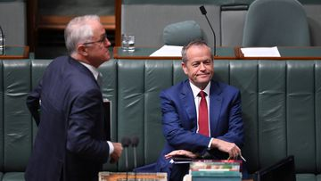 While Mr Turnbull might have the favour of Aussie voters where it comes to economic policy Coalition's preference over Labor has widened 47 to 53 percent in regards to two-party terms. Picture: AAP