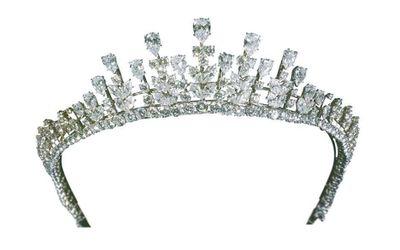 Van Cleef & Arpels diamond tiara