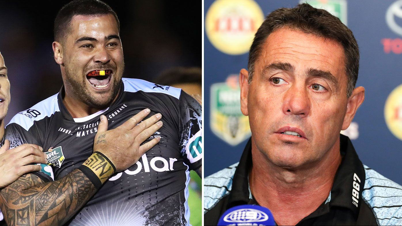NRL: Andrew Fifita issued written warning from Cronulla Sharks coach Shane Flanagan after Phil Rothfield takedown