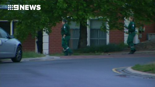 Police believe a shooting victim hit back at his attacker with an axe. (9NEWS)