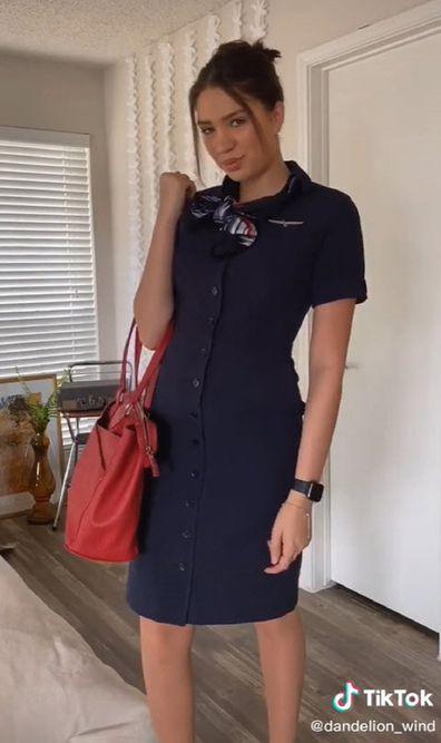 Flight attendant TikTok job videos
