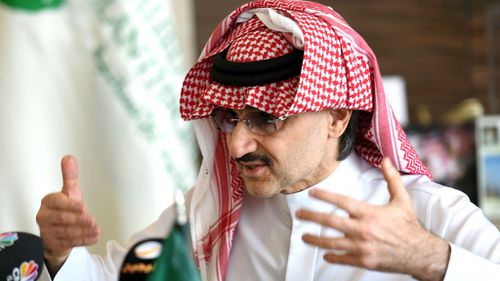 Saudi prince pledges his entire $41bn fortune to charity