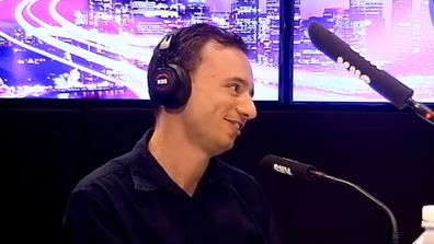 Lachlan Mansell asks Jackie O out on a date live on air.
