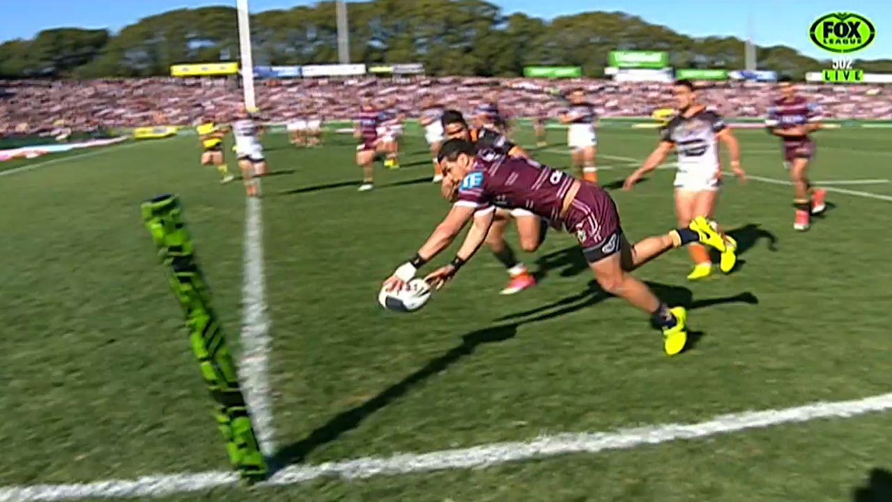 Wright crosses for Manly