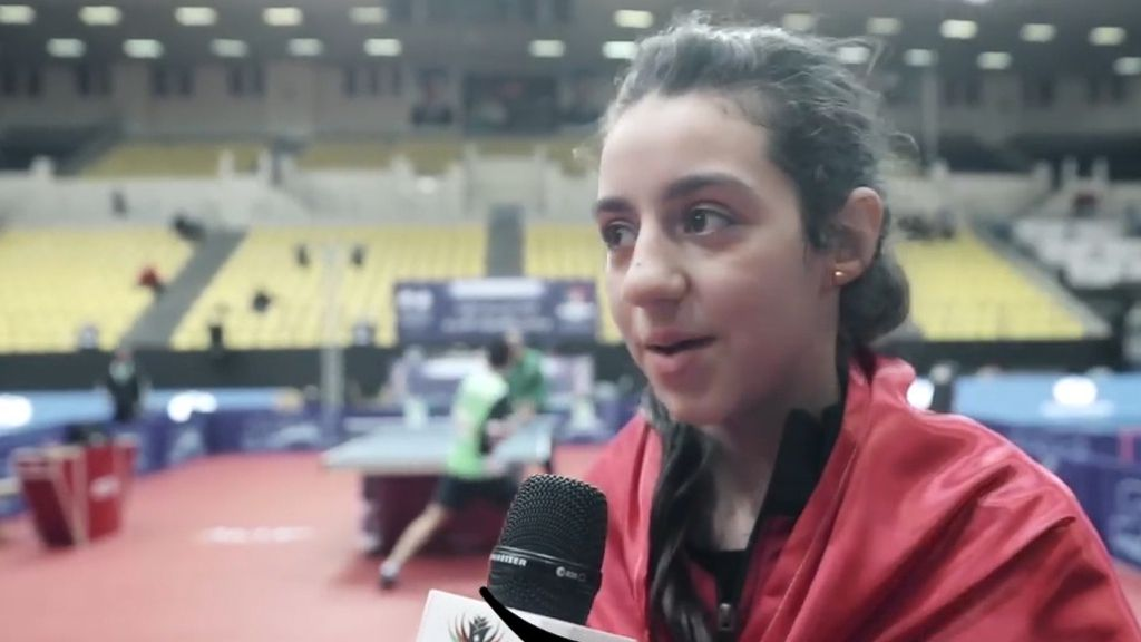 11-year-old Table Tennis prodigy Hend Zaza qualifies for Tokyo Olympics