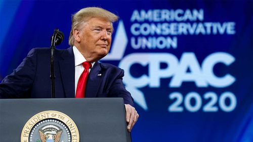 Donald Trump is set to appear at CPAC over the weekend.