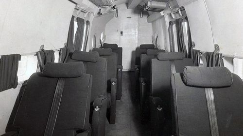 The planes used in the early days of Qantas in the 1940s are a far cry from the new Dreamliners