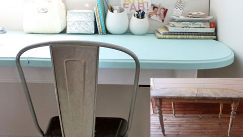 Before and after: roadside table fix-up