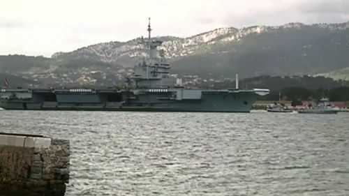Authorities foiled an alleged terror plot targeting the Toulon military base in October. (9NEWS)