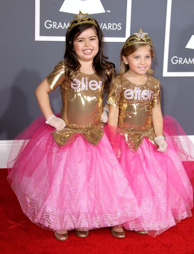Sophia Grace Brownlee, Rosie McClelland, Grammys, Ellen DeGeneres Show
