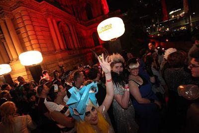 The best fan fashion at Lady Gaga's Sydney show - GAGA LIVE at Town Hall, Sydney, July 13, 2011.