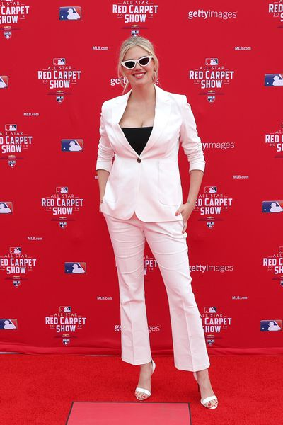 Kate Upton at the 89th MLB All-Star Game in Washington, DC, July 17, 2018