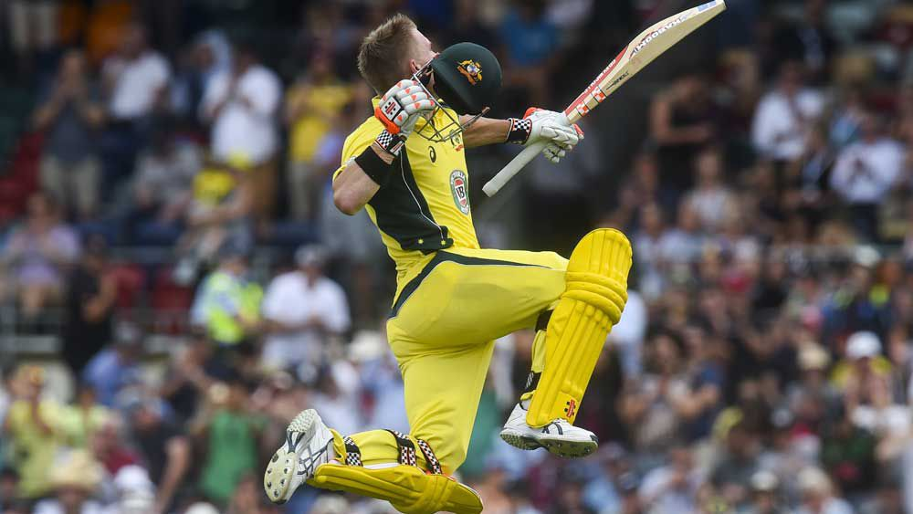 Cricket: Warner claims classy century against NZ