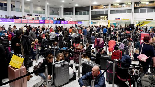 Chaos at Gatwick Airport as people were stranded after drones force its closure for more than 32 hours.