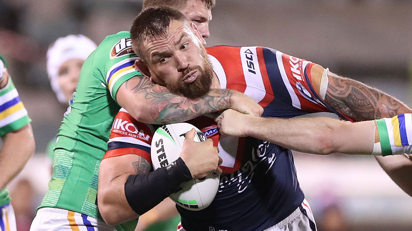 Jared Waerea-Hargreaves of the Roosters